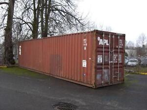 Used Steel Storage Containers for sale