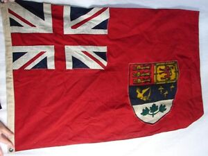 Wanted Old Canadian Red Ensign Flag. The older & bigger better