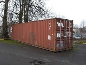 Used Steel Shipping Containers available for Sale