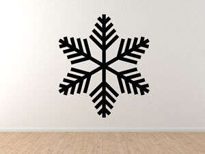 Snowflake-Pattern-2-Winter-Art-Christmas-Decoration-Vinyl-Wall-Decal-Decor