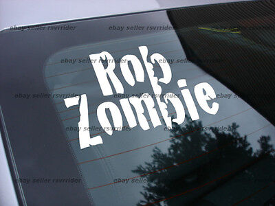 Rob Zombie decal sticker white zombie band