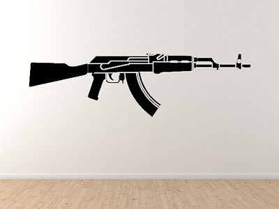 Heavy Weapon #1 - AK47 Kalashnikov Assault Rifle Gun - Vinyl