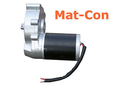 Bild von Geared electric motor 12V DC gearbox motor max. 30Nm 160rpm stepless, cw+ccw