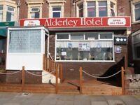 The Alderley Hotel--17 bedroom hotel to rent- South promenade blackpool