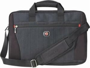 SwissGear 28043090 Structure 16 Laptop Case - Blue Heather/Black (New Other)