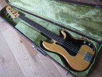 Fender Precision and Jazz basses