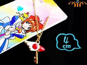 Colgante-Sakura-Card-Captor-Cazadora-cartas-baculo-lacado