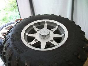 Polaris Aluminum Atv Rims and Tires
