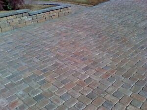 Interlock driveway pavers - will remove in exchange