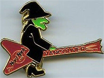Hard Rock Cafe VANCOUVER 1997 HALLOWEEN PIN - WITCH - Halloween Vancouver