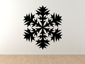 Snowflake-Pattern-6-Winter-Art-Christmas-Decoration-Vinyl-Wall-Decal-Decor