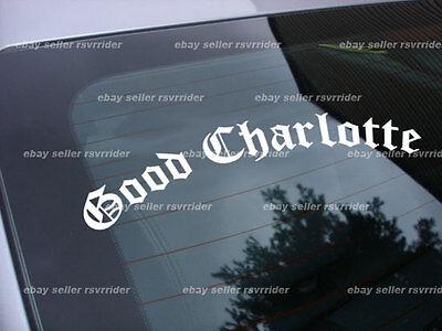 Good Charlotte punk band decal sticker