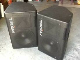 PROEL TFLV152,LIKE NEXO PS15,FBT PSR215,etc..,over £2600 new,made in italy!!