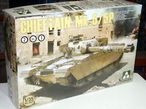Takom 2027 1/35 Chieftain MK.5/5P British main battle Tank