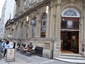 Chef Required for Busy Central Bristol Bar