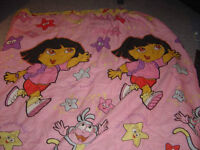 Dora Twin Comforter/Sheet Set