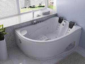 Vasche vasca idromassaggio doppia bagno 180x120 ozono 31 idrogetti spa ita - Vasca da bagno doppia ...