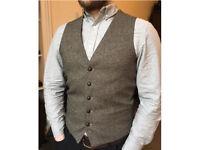 Men's Butler&Webb Waistcoat - Medium, Slimfit