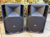 RCF Art745A Speakers with Heavy Duty Covers.