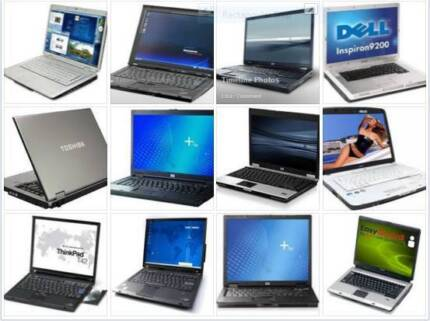 a few laptops for sale from $150 to $250