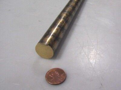 932 Sae 660 Bearing Bronze Rod 34 Dia. X 13 Length 1 Pcs