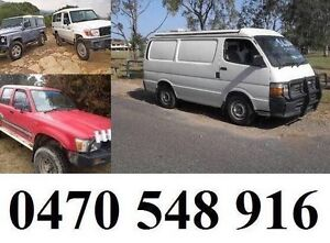 Cash for your unwanted vehicles (Cars, Vans, Utes, Trucks, 4x4) East Ipswich Ipswich City Preview