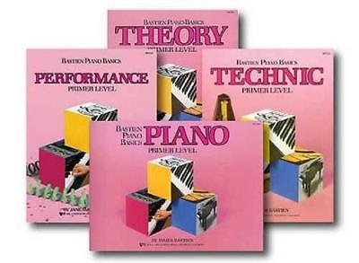 Bastien Beginner Piano Basics 4 Book Pack Set Primer Level New - Beginner Level
