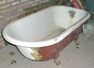 Antique Victorian Claw Foot Tub