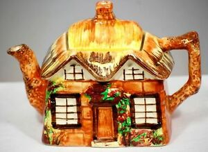 VTG Teapot England Cottage Ware, Ye Olde Cottage 1940s Collector