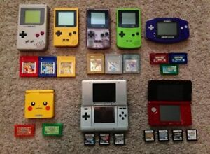 PRICE DROP - NINTENDO -- Game Boy -- DS - GBA - Colour