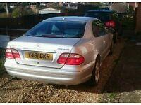 Mercedes clk55 amg low mileage 350bhp