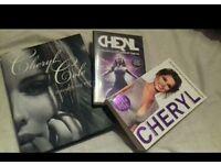 Bundle of cheryl cole merchandise (books & dvds)