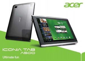 """ACER ICONIA A500-10S16S (10.1"""" 1GHz 1GB RAM 32GB SSD)"""