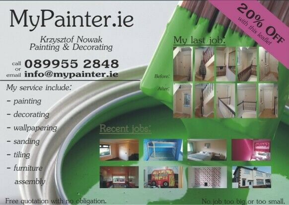 """""""MyPainter"""" - Professional Painter & Decorator - Quality is the difference"""