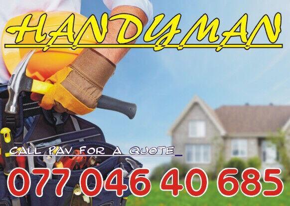 Handyman, Home Maintenance