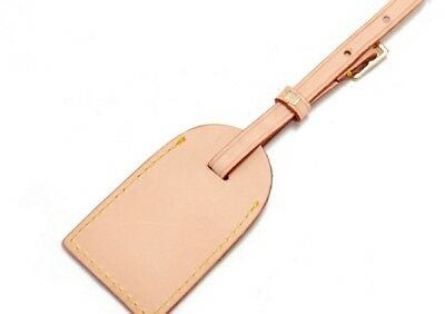 Vachetta Real Leather Luggage Tag NEW