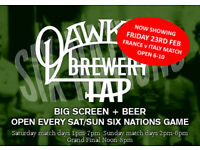 Six Nations at the Brewery Tap