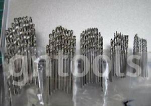 Job-Lot-50pc-Metric-HSS-High-Speed-Steel-Drill-Bits-1mm-1-5mm-2mm-2-5mm-3mm