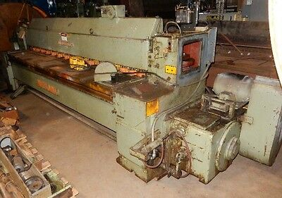 Wysong Model 1010hd Mechanical Power Squaring Shear