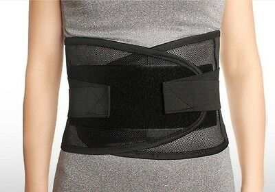 Lower Pain Relief Back Support Lumbar Brace Belt Pull Strap