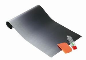 CAR SUN VISOR FILM TINT STRIP/ WINDSCREEN SUN SHADE - BLACK