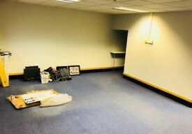 Office Space to rent - ground floor, moments from train station, alarm system