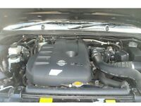 2006-2009 NISSAN NAVARA 2.5 DCi D40 ENGINE RECONDITIONED SUPPLIED AND FITTED