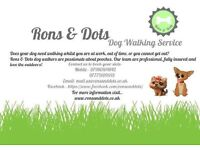 Rons and Dots dog walking service