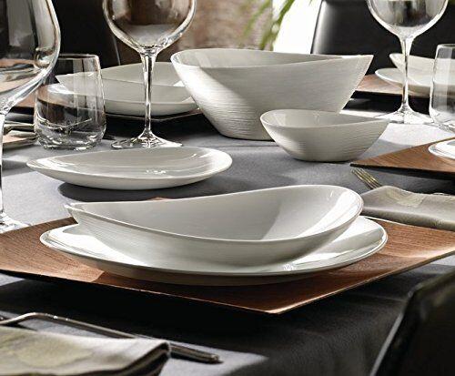 6x bormioli rocco brilliant white prometeo oval shaped. Black Bedroom Furniture Sets. Home Design Ideas