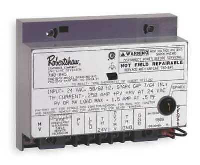 Robertshaw 780-845 Ignition Moduleintermittent Pilot24 V New Free Shipping