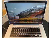 High spec Macbook Retina Pro • i7 quad core