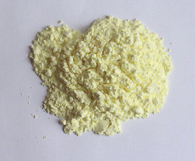 50 Pounds - Sulfur - 99.5 Pure - Powder