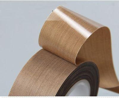 High Quality 1roll 25mm10m High Temp Resistant Ptfe Teflon Fiberglass Tape