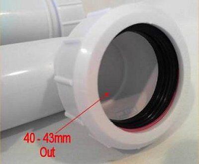 kitchen sink u bend p trap waste 76mm seal 1 12 15inch - Kitchen Sink U Bend